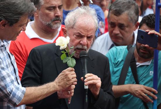 الرئيس البرازيلى الأسبق لويس ايناسيو لولا دا سيلفا