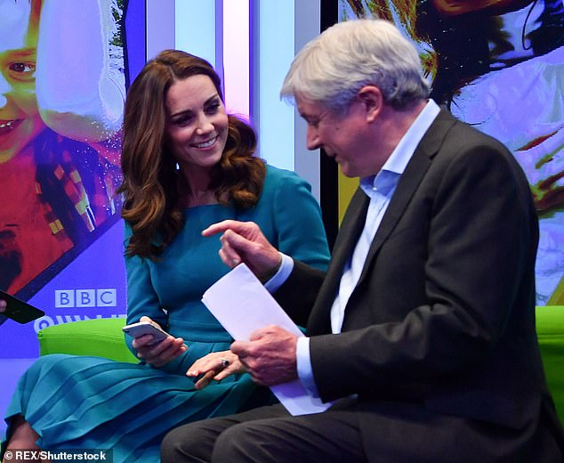 كيت ميدلتون في محادثات مع المدير العام لهيئة الإذاعة البريطانية