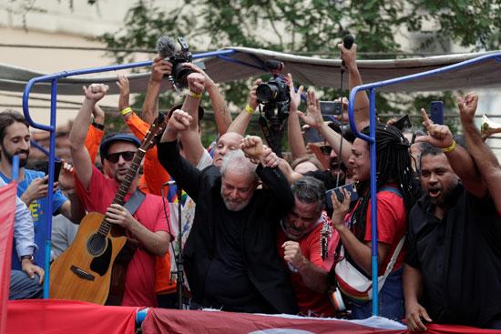 الرئيس البرازيلى الأسبق لويس لولا دا سيلفا