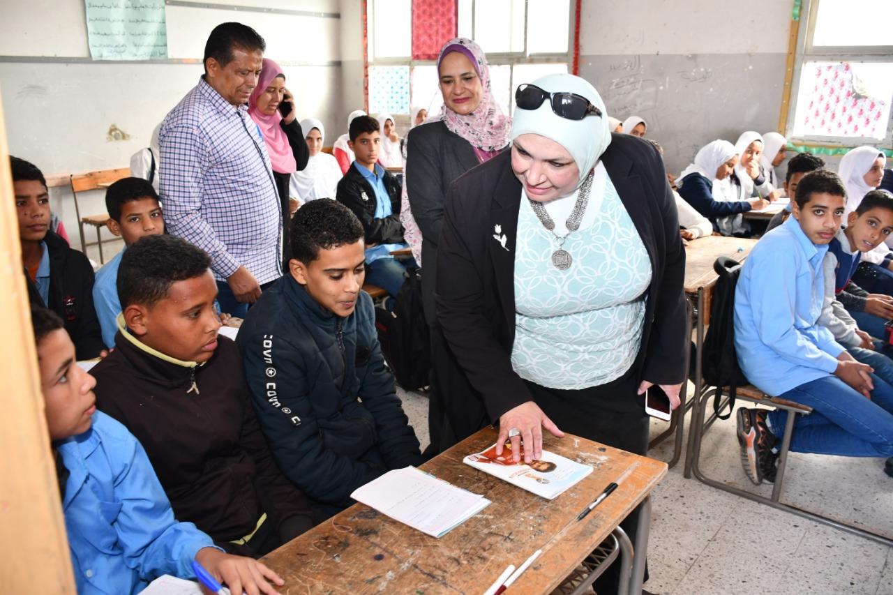2- زيارة مدرسة أبوفودة
