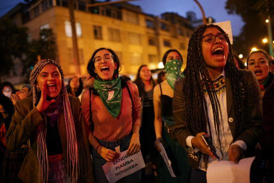 استمرار الإضراب فى كولومبيا