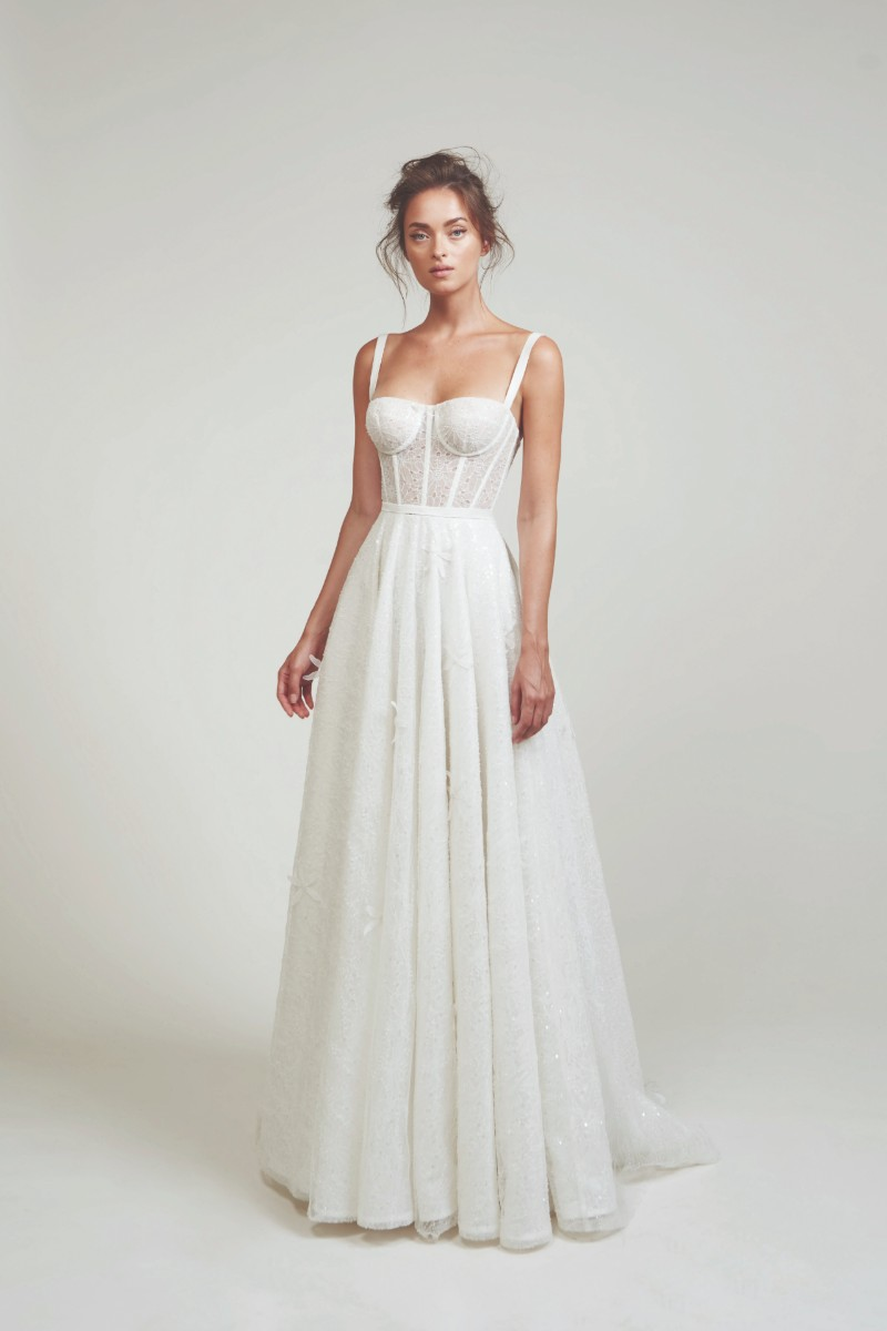 فستان الزفاف ذو الكورسيه