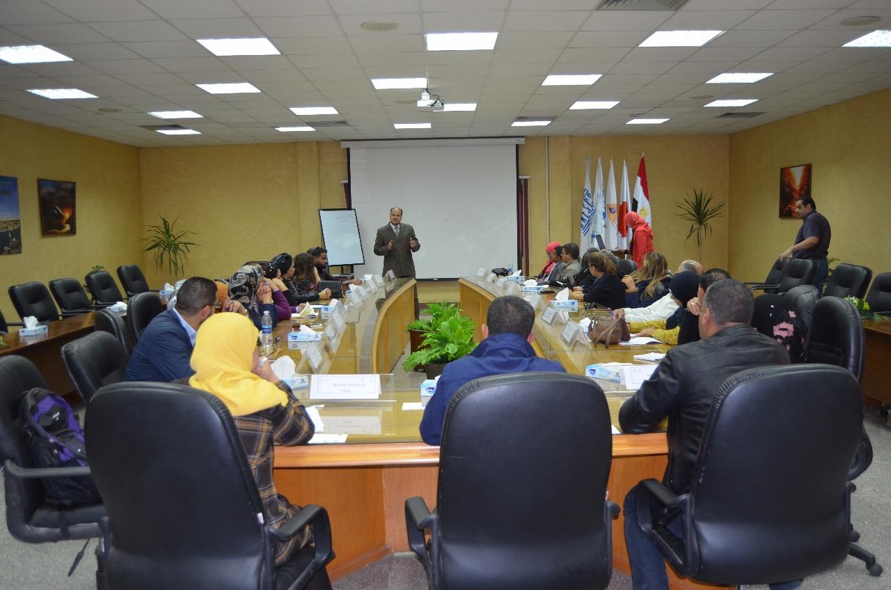 قطاع التدريب بالرى يستضيف 24 متدرب من دول الشرق الاوسط وشمال أفريقيا (3)
