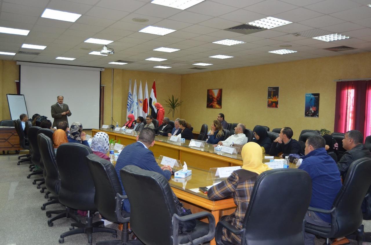 قطاع التدريب بالرى يستضيف 24 متدرب من دول الشرق الاوسط وشمال أفريقيا (5)