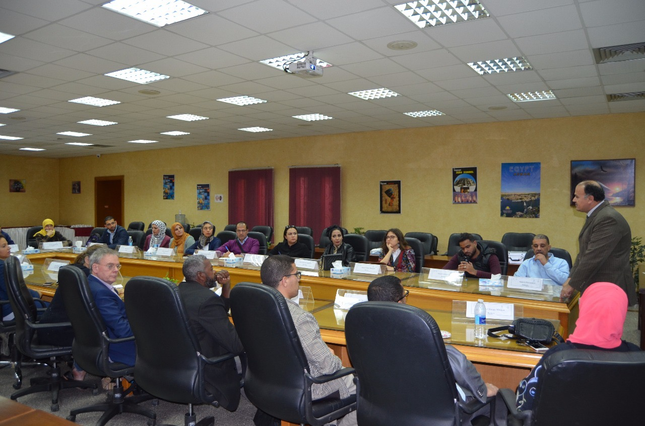 قطاع التدريب بالرى يستضيف 24 متدرب من دول الشرق الاوسط وشمال أفريقيا (4)