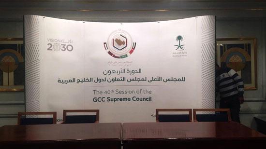 شاهد التجهيزات النهائية للمراكز الإعلامية للقمة الخليجية (6)