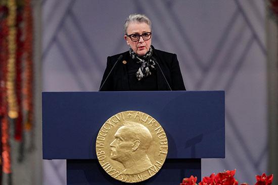 بيريت ريس أندرسون  رئيسة لجنة نوبل