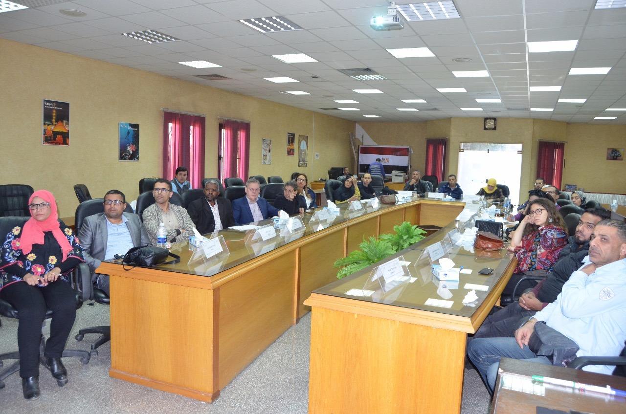 قطاع التدريب بالرى يستضيف 24 متدرب من دول الشرق الاوسط وشمال أفريقيا (1)