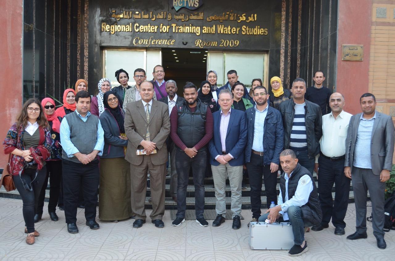 قطاع التدريب بالرى يستضيف 24 متدرب من دول الشرق الاوسط وشمال أفريقيا (2)