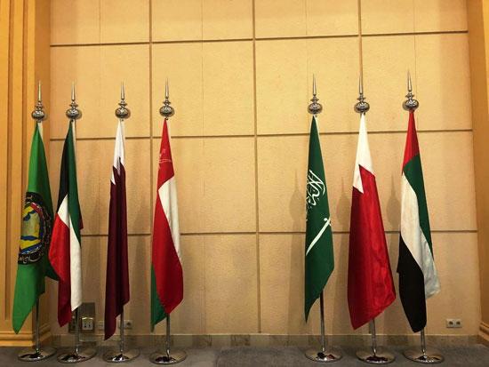 شاهد التجهيزات النهائية للمراكز الإعلامية للقمة الخليجية (4)