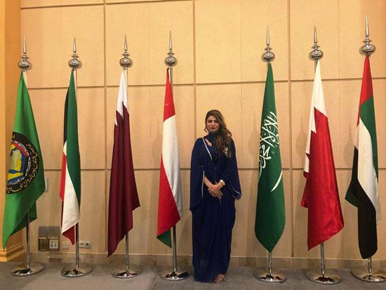 شاهد التجهيزات النهائية للمراكز الإعلامية للقمة الخليجية (7)