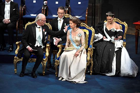 ملك السويد كارل جوستاف والملكة سيلفيا