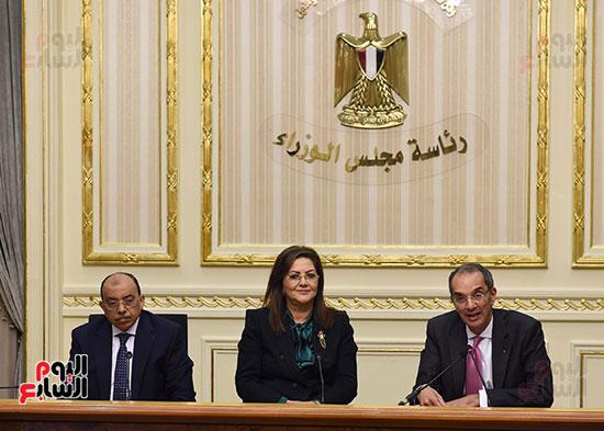 نوقيع اتفاقيات بمجلس الوزراء (9)