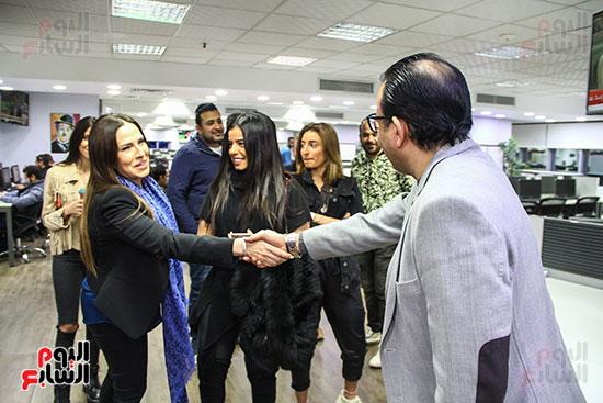 أسرة مريم عامر منيب ودندراوى الهوارى رئيس التحرير التنفيذى