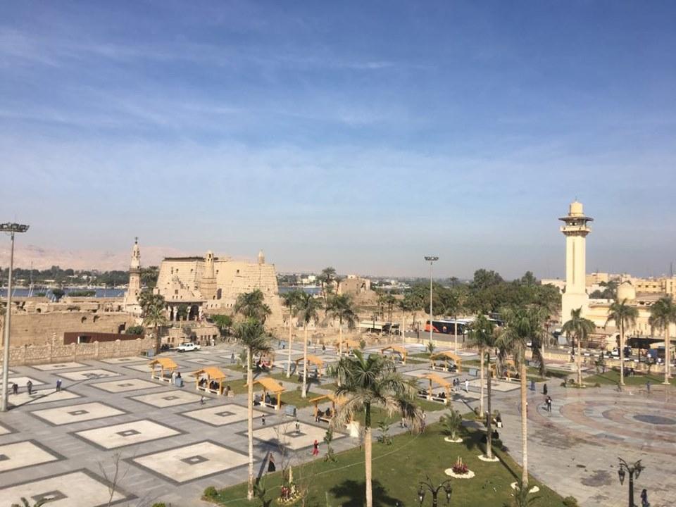 شاهد التطوير الشامل لساحة وميدان ومسجد العارف أبوالحجاج الأقصري (4)