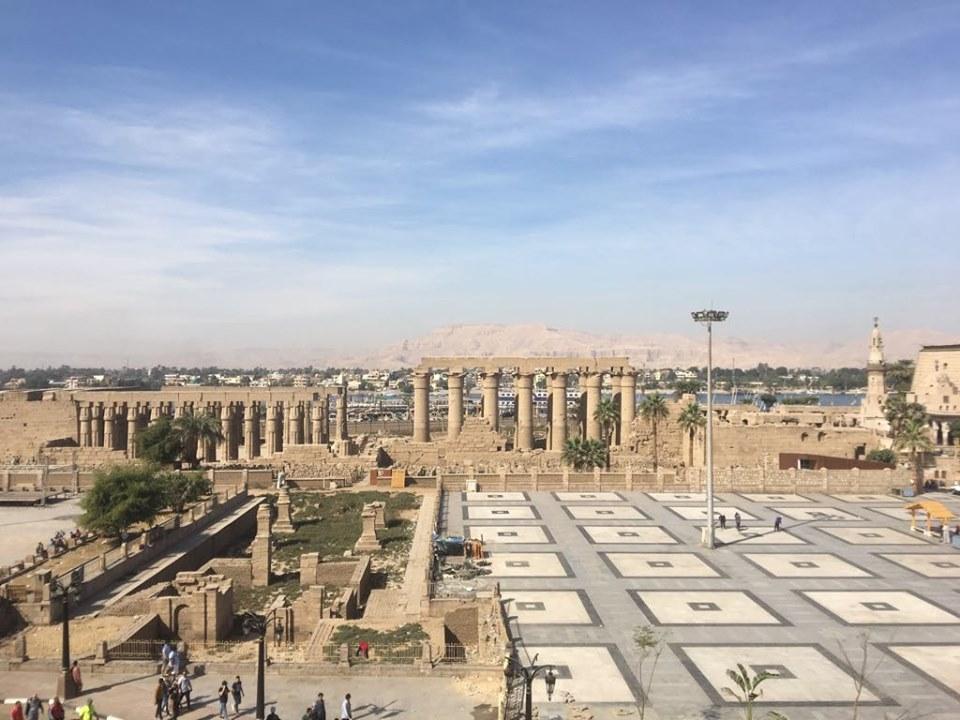 شاهد التطوير الشامل لساحة وميدان ومسجد العارف أبوالحجاج الأقصري (5)
