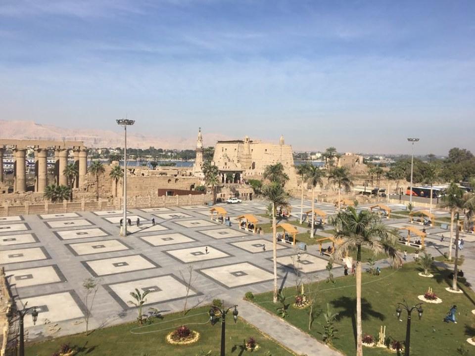 شاهد التطوير الشامل لساحة وميدان ومسجد العارف أبوالحجاج الأقصري (1)