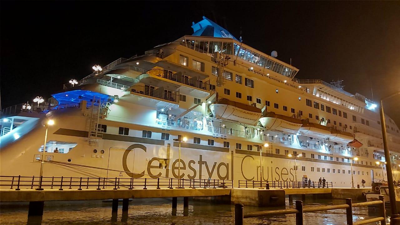 ميناء بورسعيد السياحى يستقبل 1125 سائح من جنسيات مختلفة (8)