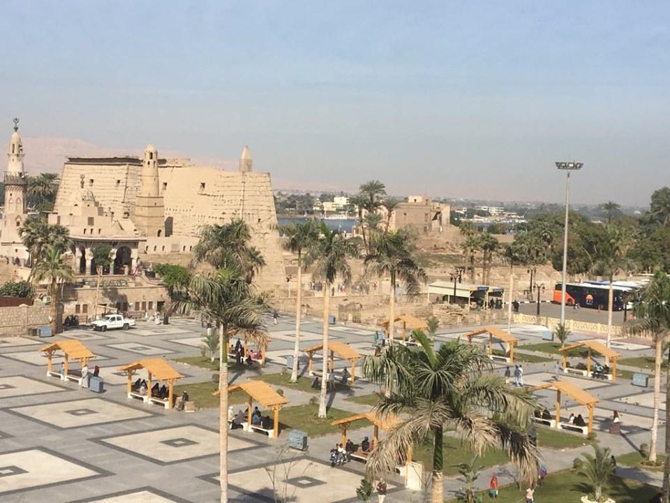 شاهد التطوير الشامل لساحة وميدان ومسجد العارف أبوالحجاج الأقصري (3)