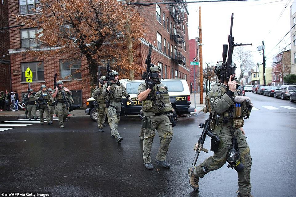 قوات الأمن الأمريكية