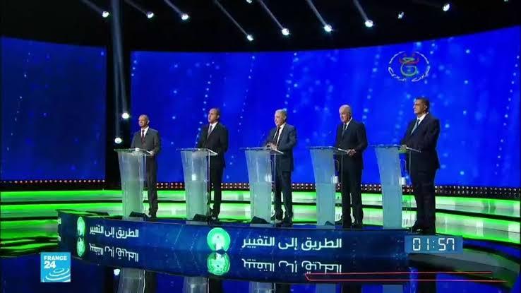 المرشحون للرئاسة فى المتاظرة