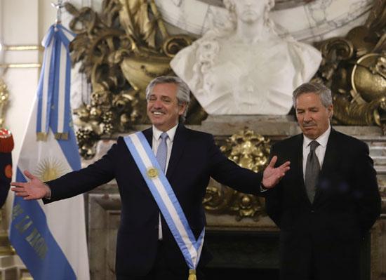 Alberto Fernandez, President-elect of Argentina