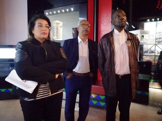 سفير موزمبيق يزور بمتحف النيل بأسوان (13)