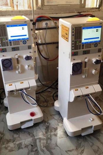 طالب بطب الزقازيق تبرع وزملاؤه لشراء 5 أجهزة غسيل كلوى للمرضى (8)