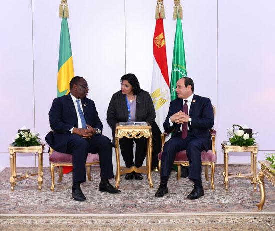 الرئيس-عبد-الفتاح-السيسى-والرئيس-السنغالى-ماكى-سال-(1)
