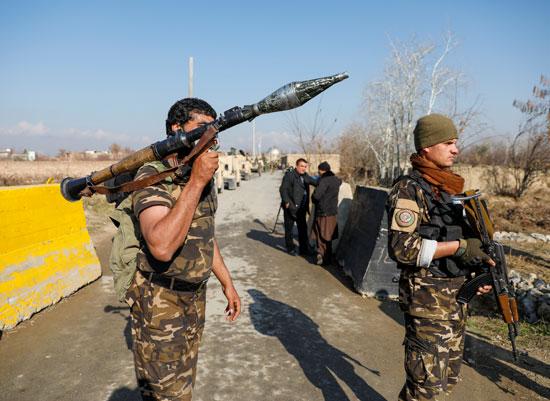 قوات-الأمن-الأفغانية