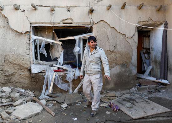 منزل-مدمر-بعد-التفجير