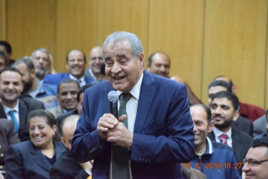 اجتماع وزير التموين وعدد من قيادات الشركات (3)