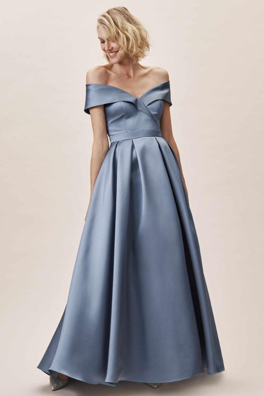 فستان من الستان أوف شولدر