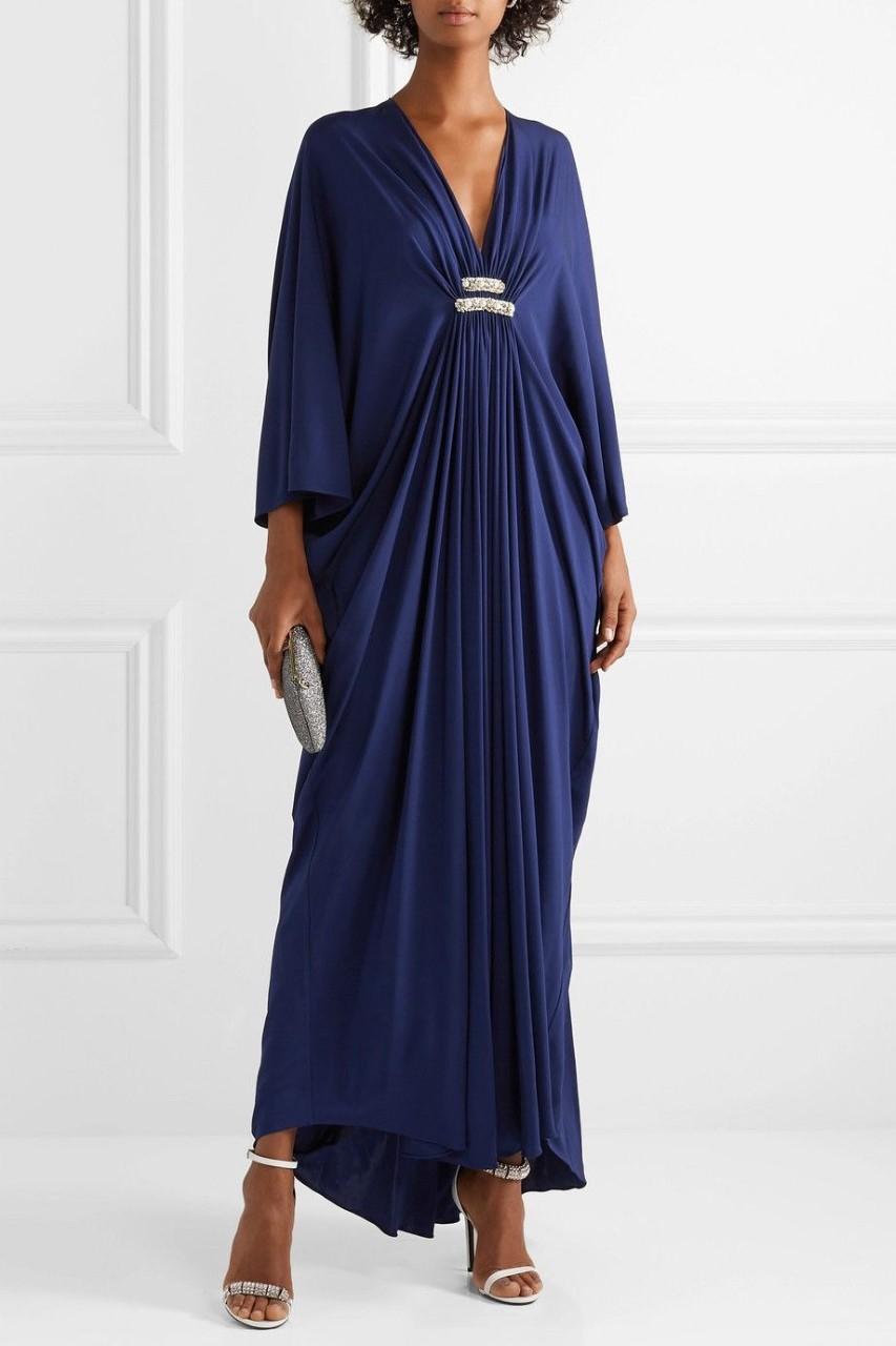 فستان ام العريس بسيط