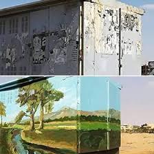 حي السيدة زينب يحول أكشاك الكهرباء للوحات فنية لتجميل الشوارع (1)