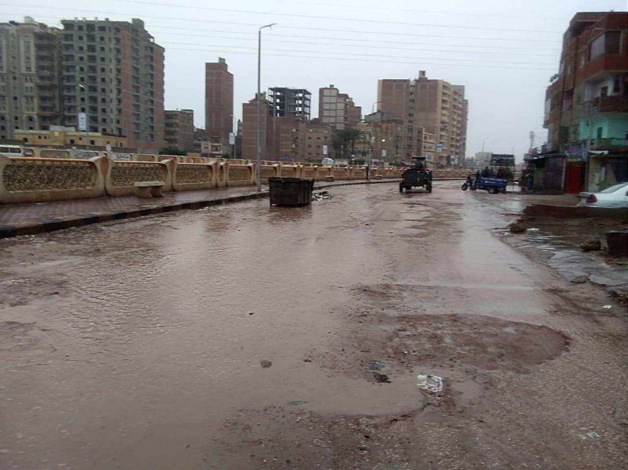 الأمطار بكفر الشيخ (2)