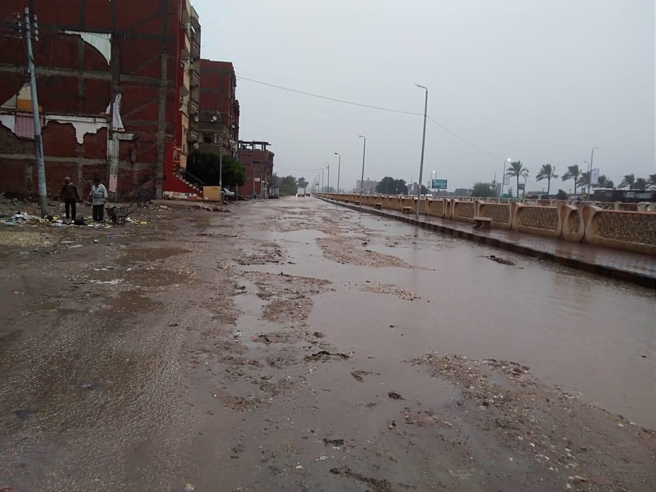 الأمطار بكفر الشيخ (1)