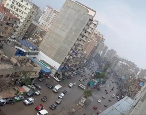 هطول أمطار غزيزة بالشرقية (2)