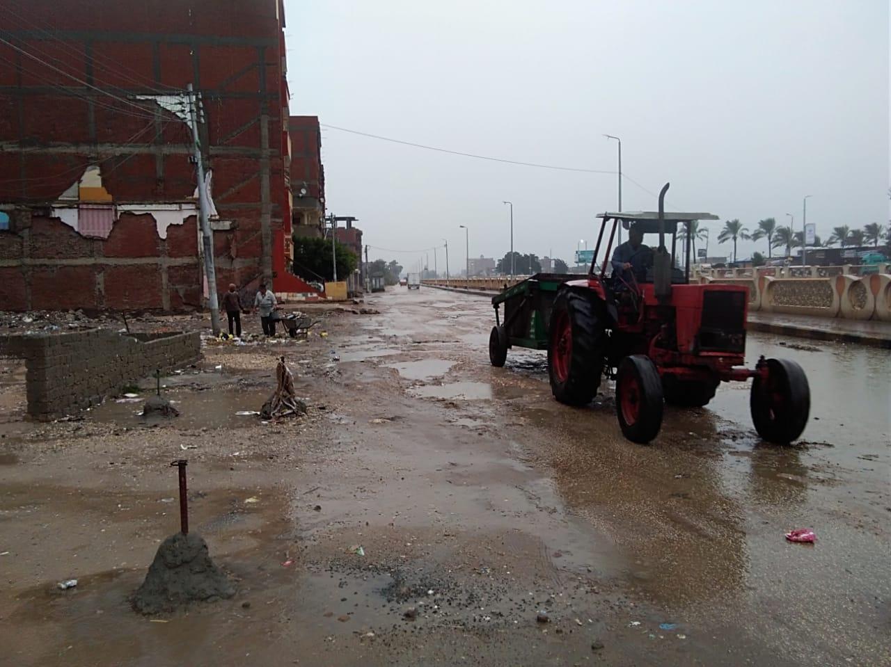 الأمطار بكفر الشيخ (5)