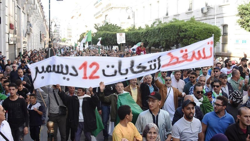 مظاهرات الرافضين