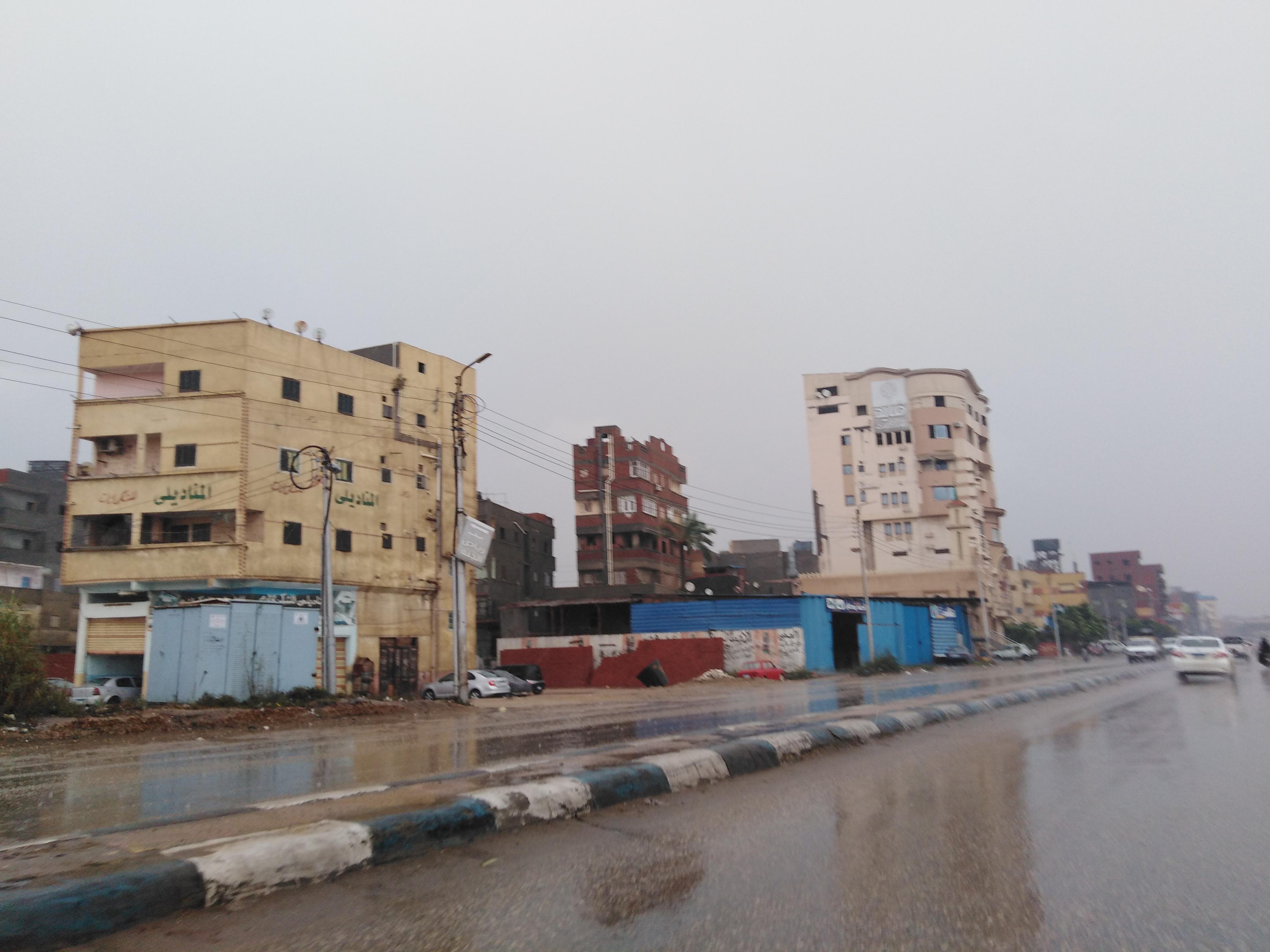 أمطار غزيرة على مدن دمياط  (2)