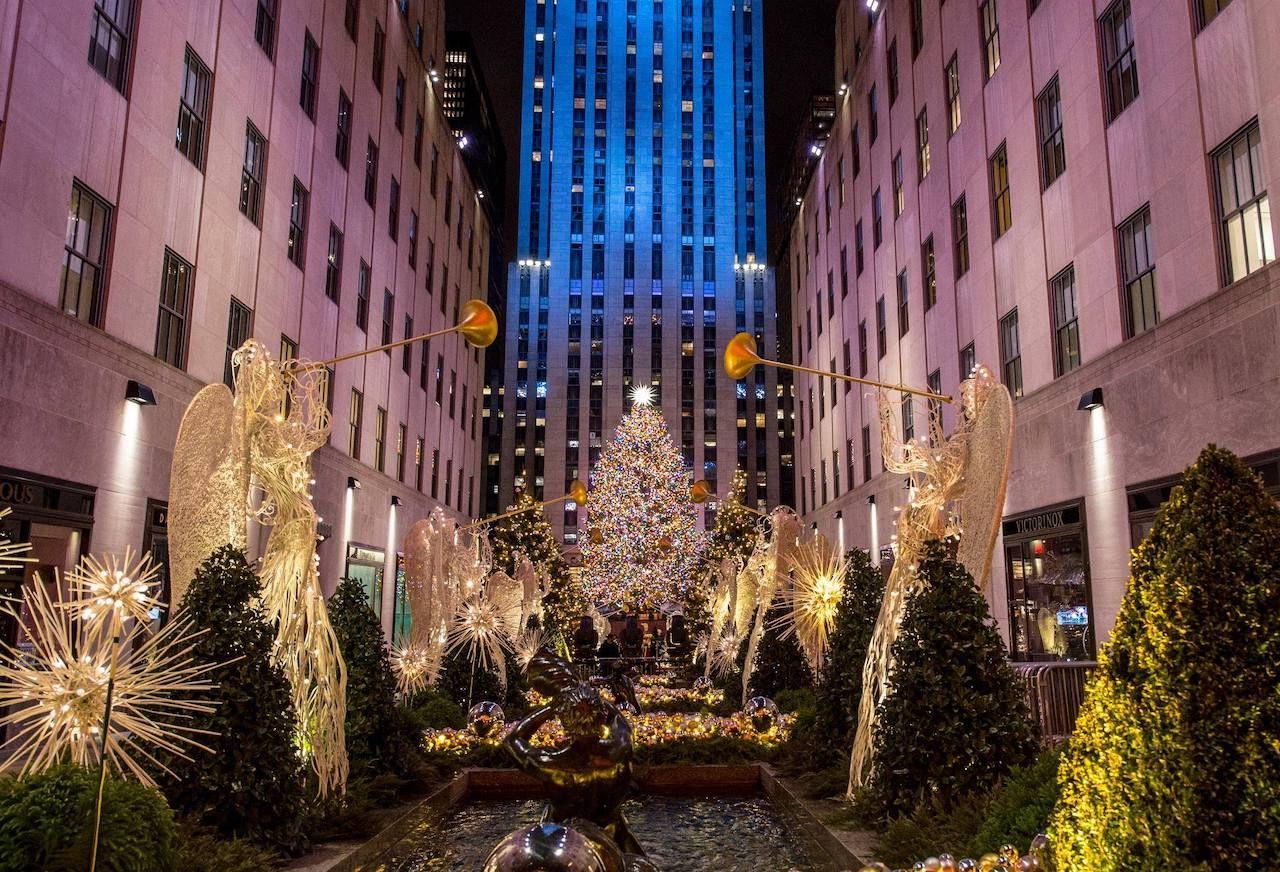روكفلر مركز شجرة عيد الميلاد