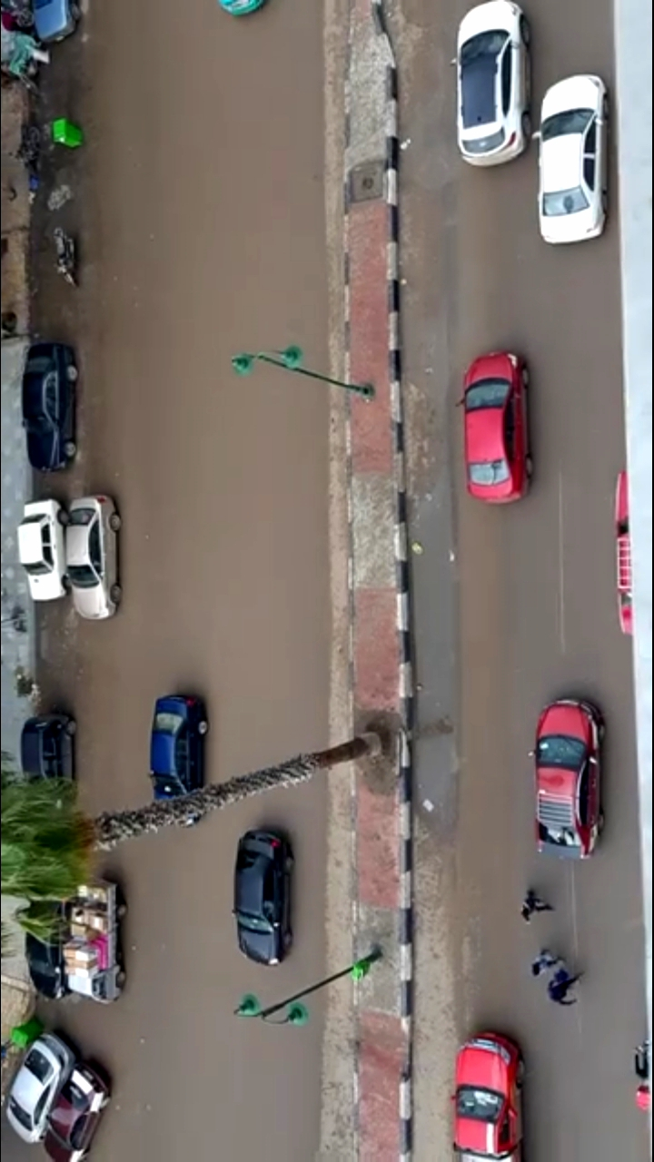 هطول أمطار غزيزة بالشرقية (4)