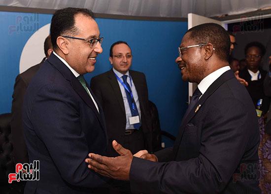 مصطفى مدبولى يلتقى رئيسى وزراء الجابون وغينيا الإستوائية (6)