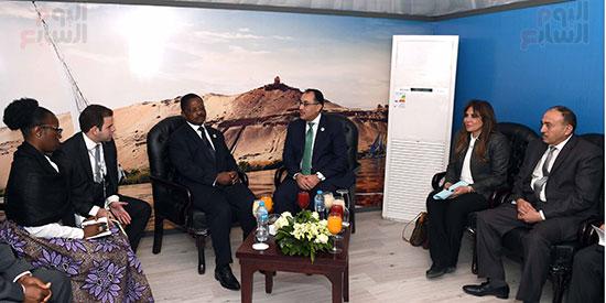 مصطفى مدبولى يلتقى رئيسى وزراء الجابون وغينيا الإستوائية (9)