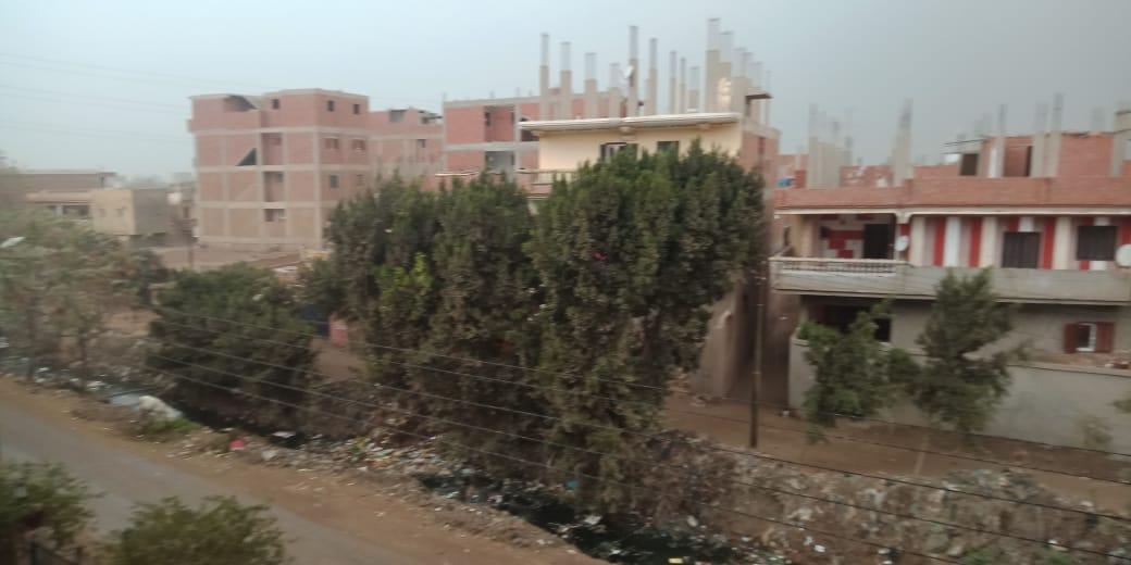 أمطار ورياح شديدة تضرب مدن محافظة القليوبية (5)