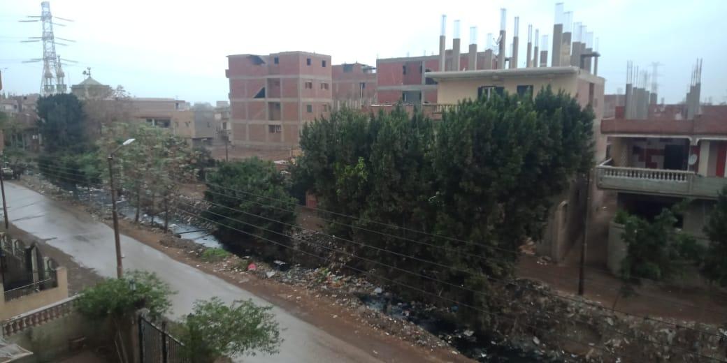 أمطار ورياح شديدة تضرب مدن محافظة القليوبية (6)
