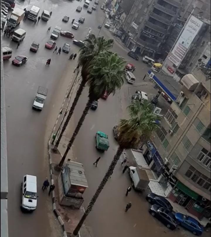 هطول أمطار غزيزة بالشرقية (1)