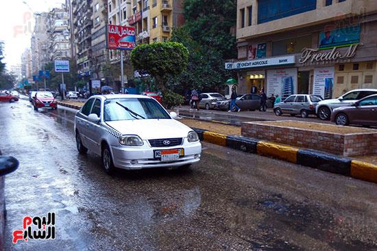 امطار على محافظة القاهرة
