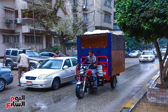 أمطار على القاهرة والجيزة (1)